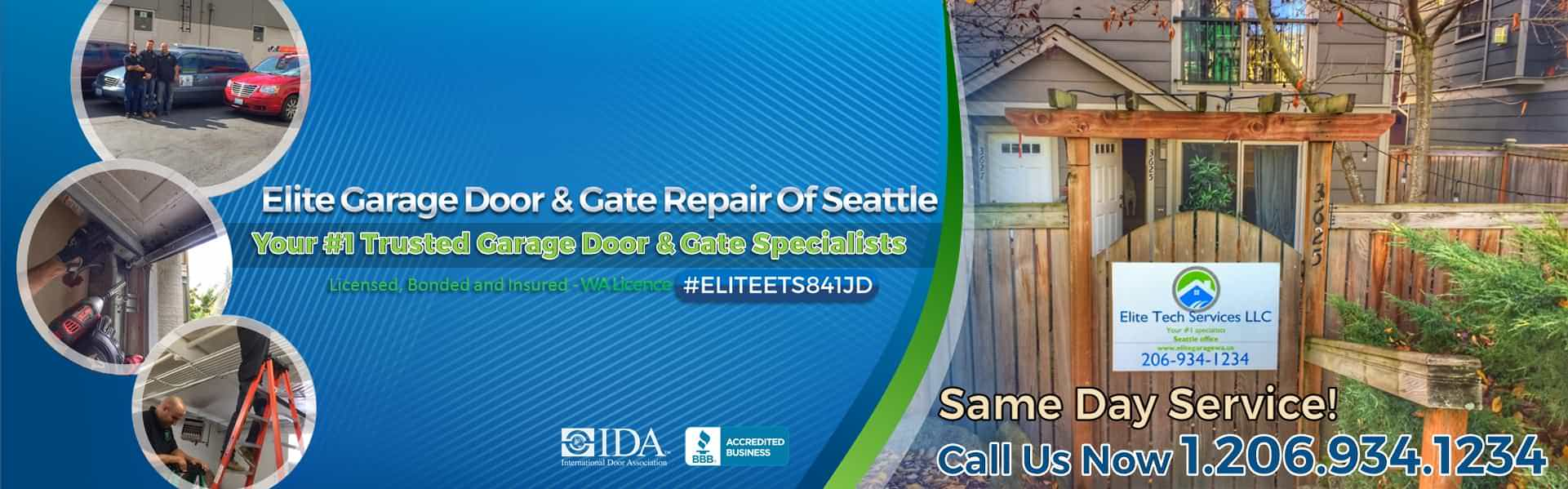Elite 174 Garage Door Amp Gate Repair Of Seattle Wa Amp King County