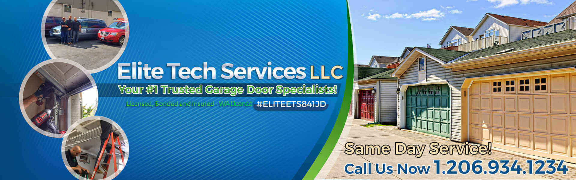 Elite Tech Services Llc Garage Door Amp Gate Repair