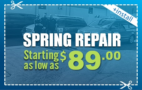Spring Repair Starting As Low As 89$ Elite Tech Services, LLC Coupons
