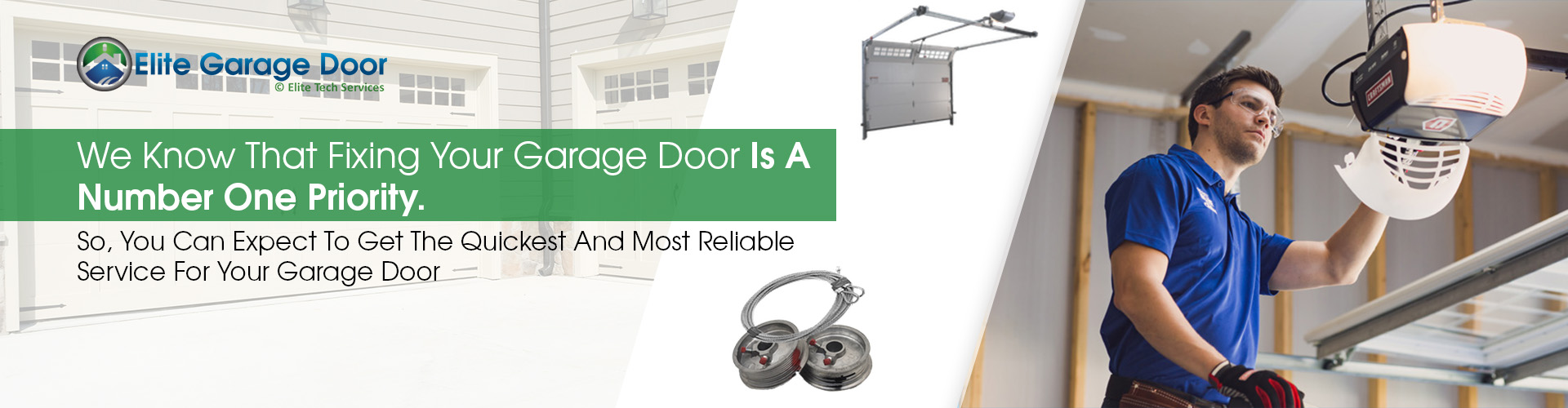 Commercial Garage Door Repair - Elite Tech Services, LLC