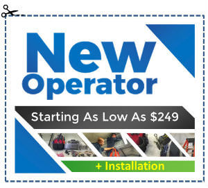 Elite Garage Door Special Offers - New Openers Starting As Low As $79