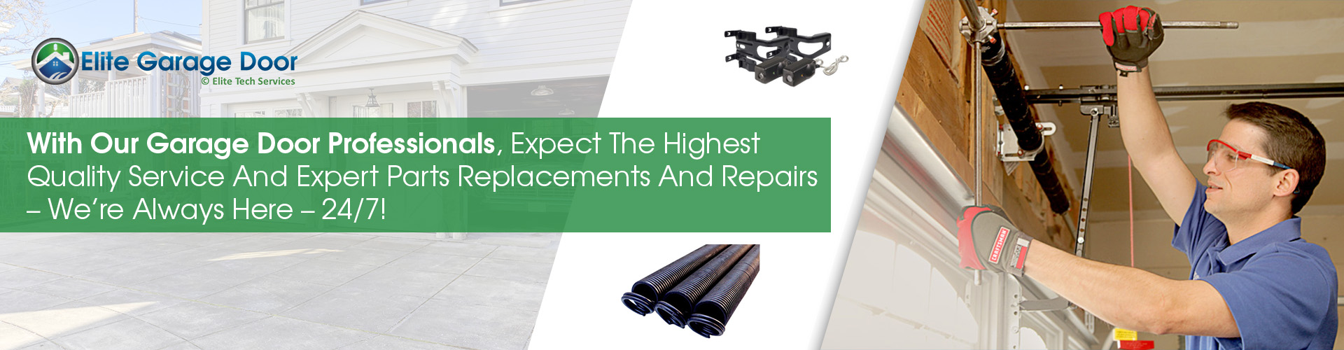 Garage Door Drums Replacement - Elite Tech Services, LLC