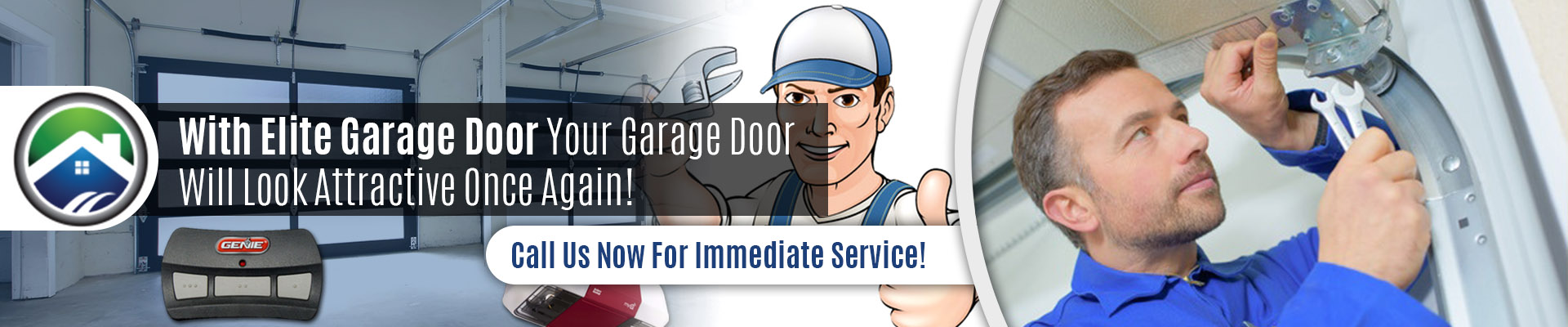 Garage Door Off Track Repair - Elite Tech Services, LLC