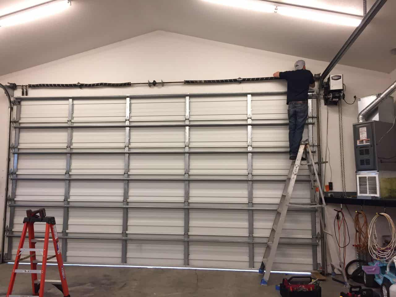 commercial garage door repair in sumner wa by elite tech