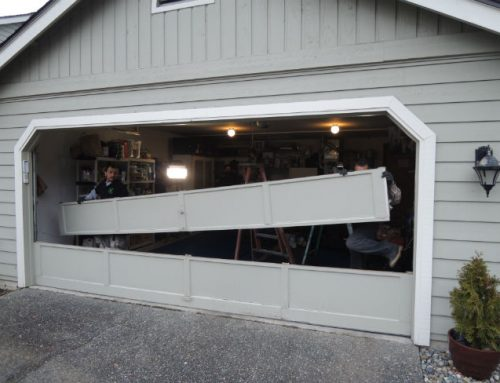 Garage Door Bent Panel Repair In Kirkland WA