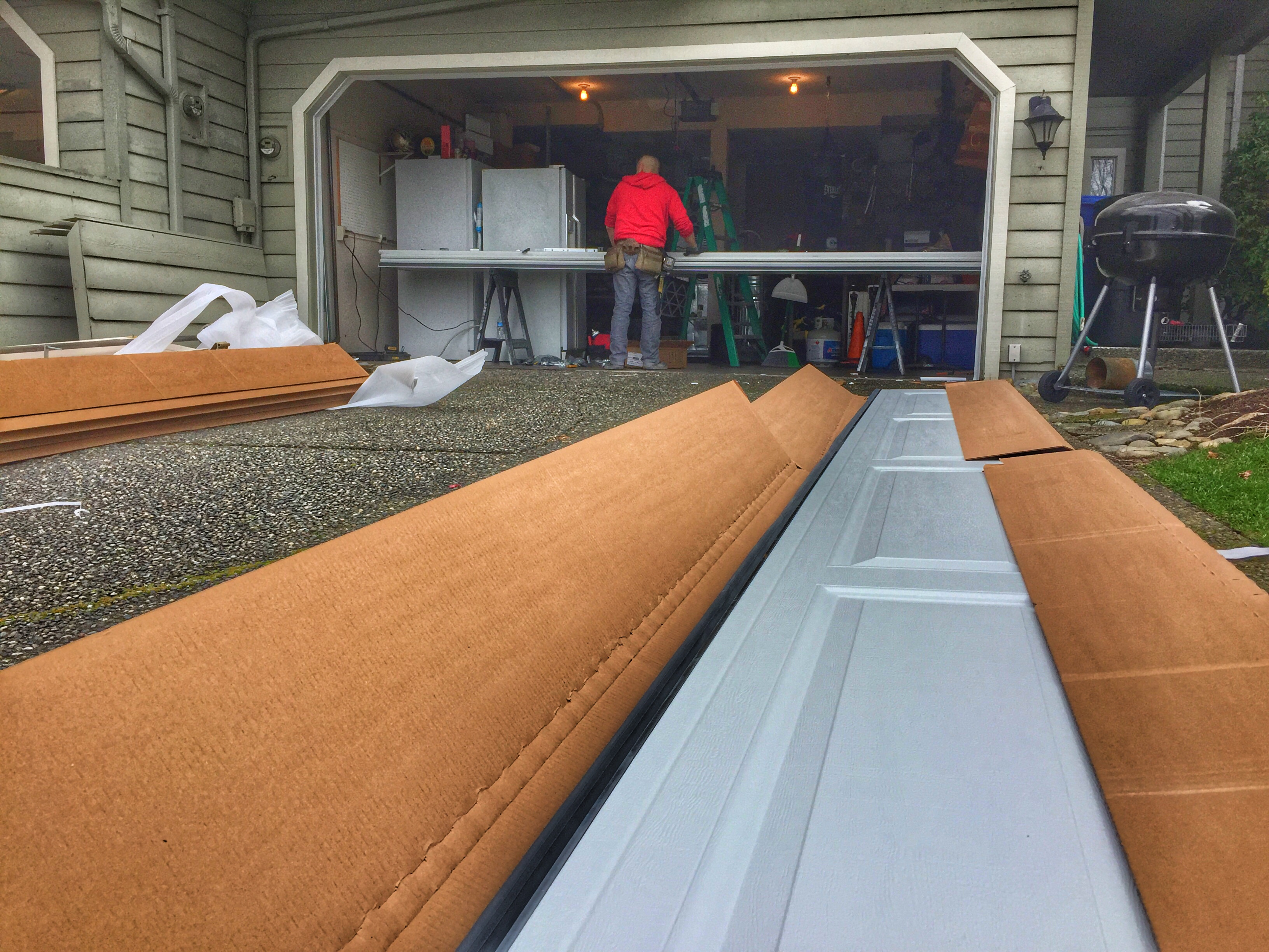 New Garage Door Installation In Bellevue Wa By Elite Tech