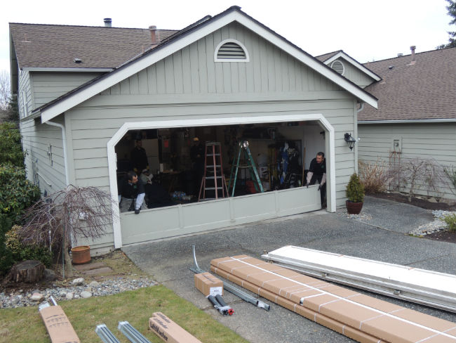 Residential garage door installation in sammamish wa by for Garage door repair tacoma