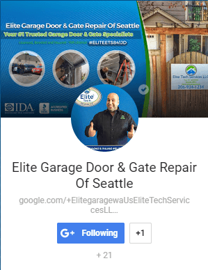 Elite Garage Door & Gate Repair Of Seattle WA - Google Plus