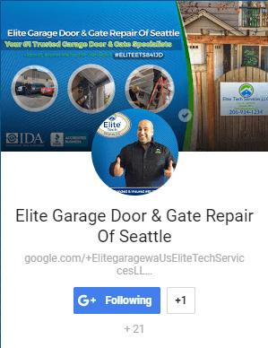 Elite Garage Door & Gate Repair Of Seattle WA - Google Plus