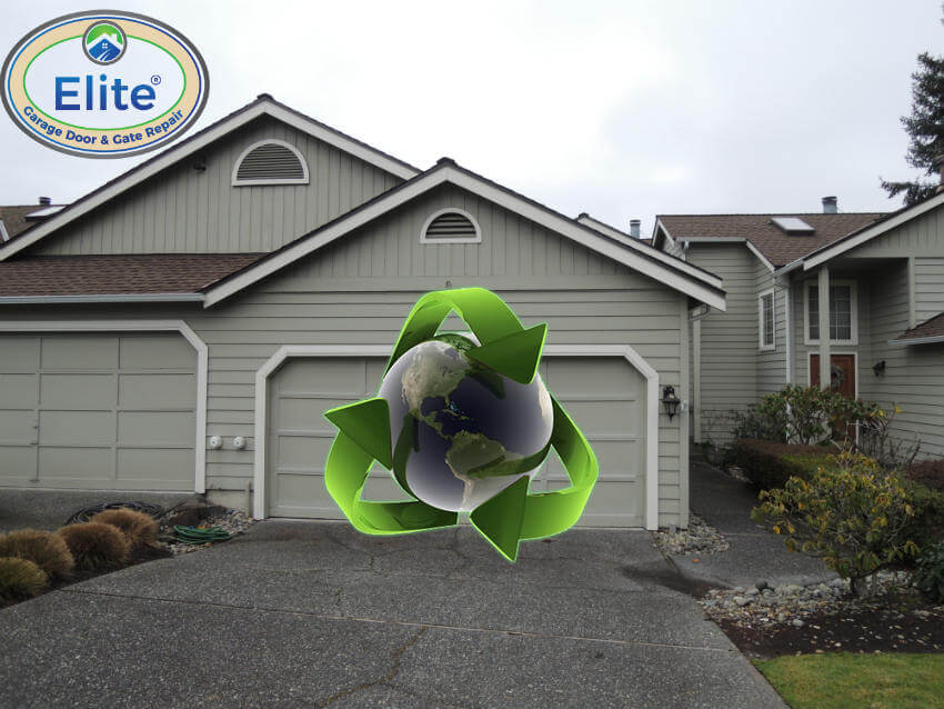 Can i recycle my garage door yes you can do it for Garage door repair duvall wa