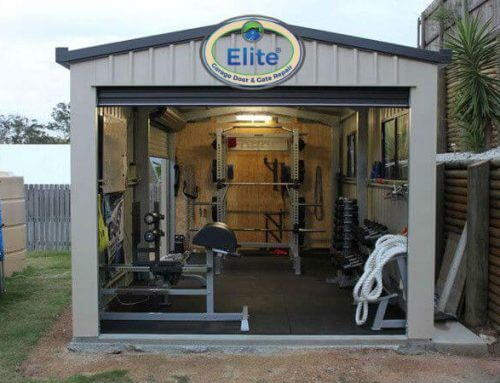 Convert Your Garage Into Your Private Gym