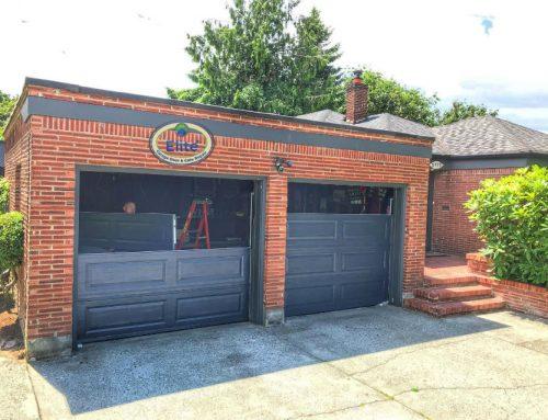 How To Turn Your Garage Door Into A Dance Studio Garage