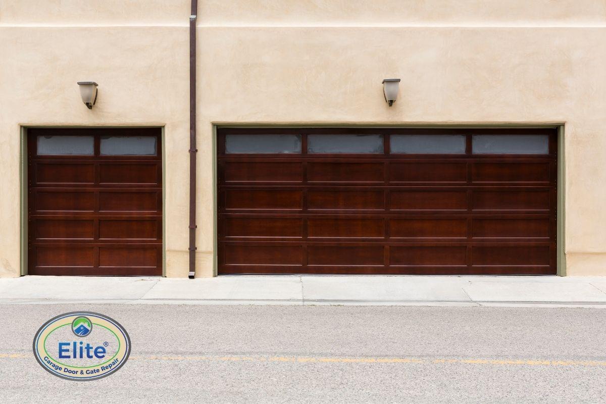 Avoid Wooden Garage Doors
